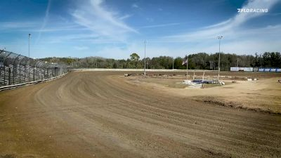 We're Here At Ocala For Practice Night With The USAC Midgets
