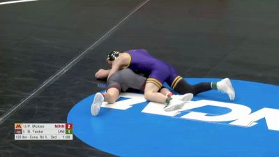 125 Blood Round, Brody Teske, Northern Iowa vs Pat McKee, Minnesota