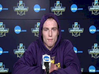 Northern Iowa's Parker Keckeisen is making a deep run at 184 pounds