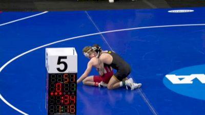 141 m, Jaydin Eierman, Iowa vs Cayden Rooks, Indiana