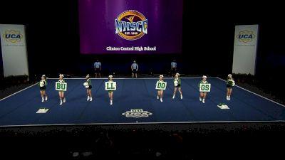 Clinton Central High School [2021 Small Non Tumbling Semis] 2021 UCA National High School Cheerleading Championship