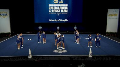 University of Memphis [2021 Small Coed Division IA Finals] 2021 UCA & UDA College Cheerleading & Dance Team National Championship