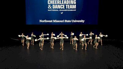 Northwest Missouri State University [2021 Open Pom Finals] 2021 UCA & UDA College Cheerleading & Dance Team National Championship