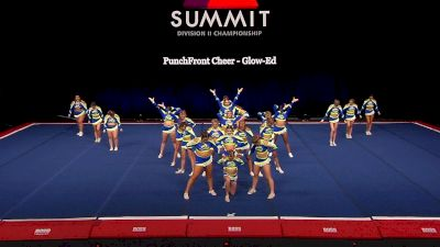 PunchFront Cheer - Glow-Ed [2021 L4.2 Senior Coed - Medium Semis] 2021 The D2 Summit