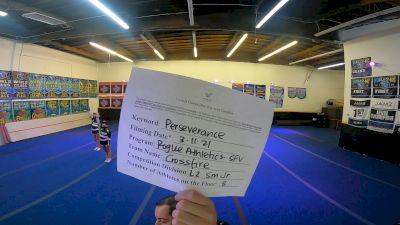 Rogue Athletics - SFV - Crossfire [L2 Youth] 2021 USA All Star Virtual Championships