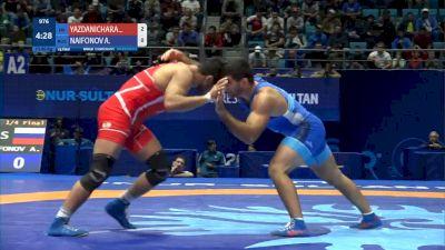 Hassan Yazdani (IRI) vs Artur Naifonov (RUS)