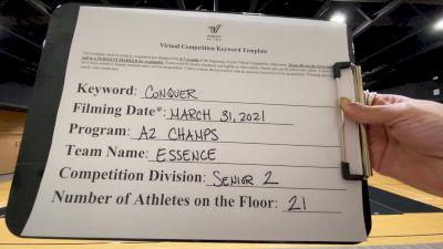 AZ Champs - Essence [L2 Senior - D2] 2021 Varsity All Star Winter Virtual Competition Series: Event V