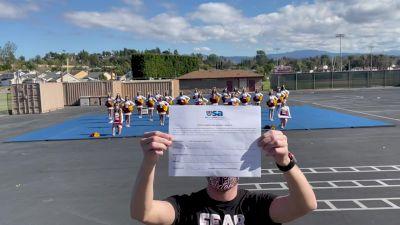 Esperanza High School [High School - High School Situational Sideline/Crowdleading Cheer] 2021USA Virtual Spirit Regional #2 and All Star Dance Regional #1