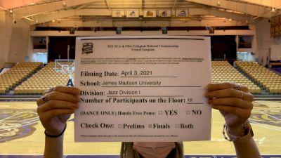 James Madison University [Virtual Jazz Division I Finals] 2021 NCA & NDA Collegiate Cheer & Dance Championship