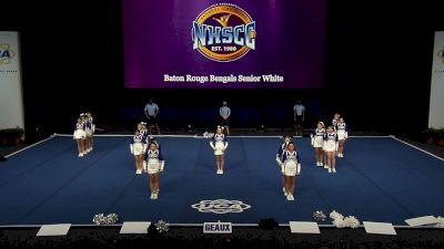 Baton Rouge Bengals Senior White [2021 Trad Rec Non Aff 14Y Semis] 2021 UCA National High School Cheerleading Championship