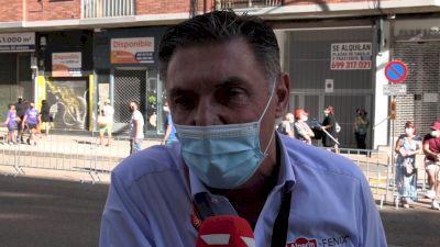 DS Michel Cornelisse: 'We Always Believed In Philipsen' Stage 2 - 2021 Vuelta A España