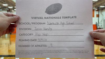 Northville High School [Junior Varsity - Hip Hop Virtual Finals] 2021 UDA National Dance Team Championship
