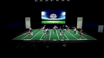 Northwestern State Athletics [2021 Open Coed Game Day Semis] 2021 UCA & UDA College Cheerleading & Dance Team National Championship