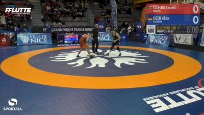 61 kg Bronze - Viktor Lyzen, Germany vs Leomid Colesnic, Moldova