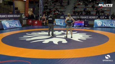50 kg Bronze - Amy Fearnside, USA vs Lisa Ersel, Germany