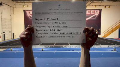 Team Illinois Cheer - Gold Glam [L2 Junior - Small] 2021 The Regional Summit Virtual Championships