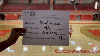 Abilene High School [4A Game Day] 2020 KSHSAA Game Day Spirit Virtual Showcase