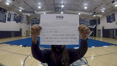Willow Canyon High School [Coed Varsity Show Cheer Advanced - Small Prelims] USA Spirit & Dance Virtual National Championships