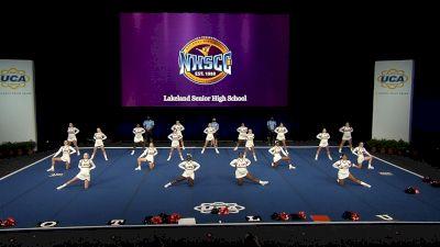 Lakeland Senior High School [2021 Medium Non Tumbling Finals] 2021 UCA National High School Cheerleading Championship