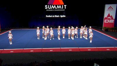 Perfect 10 Heat - Ignite [2021 L3 Junior - Small Wild Card] 2021 The D2 Summit
