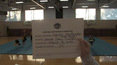 North Hunterdon High School [Virtual Game Day - Large Varsity Semi Finals] 2021 UCA National High School Cheerleading Championship