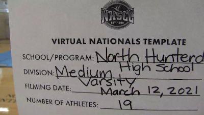 North Hunterdon High School [Virtual Medium Varsity Semi Finals] 2021 UCA National High School Cheerleading Championship