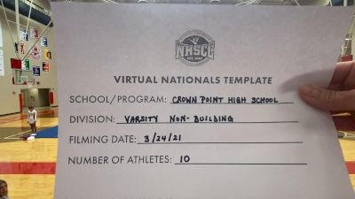 Crown Point High School [Virtual Varsity Non Building Semi Finals] 2021 UCA National High School Cheerleading Championship