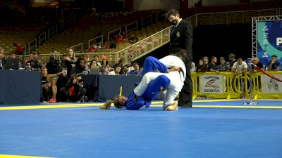 Bianca Basilio Earns Pans Title With Nasty Footlock