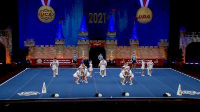 Trine University [2021 Open Small Coed Semis] 2021 UCA & UDA College Cheerleading & Dance Team National Championship