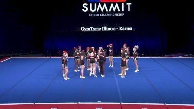 GymTyme Illinois - Karma [2021 L6 Junior Coed - Small Semis] 2021 The Summit