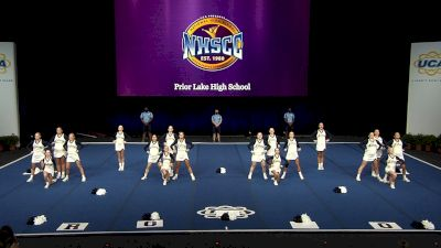 Prior Lake High School [2021 Medium Non Tumbling Finals] 2021 UCA National High School Cheerleading Championship