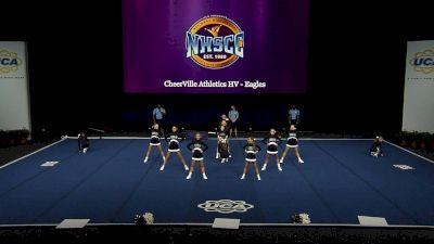CheerVille Athletics HV - Eagles [2021 Trad Rec Non Aff 14Y Semis] 2021 UCA National High School Cheerleading Championship