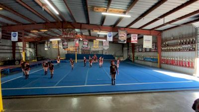 Texas Cheer Force Elite - Fire [L1 Youth - D2 - Small - A] 2021 NCA All-Star Virtual National Championship