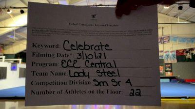 East Celebrity Elite - Central - Lady Steel [L4 Senior - Small] 2021 Spirit Festival Virtual Nationals