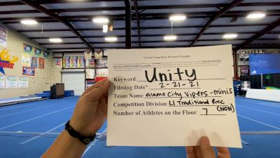 Alamo City Vipers - Minis [L1 Traditional Recreation - 10 and Younger (NON)] 2021 Varsity Rec, Prep & Novice Virtual Challenge IV