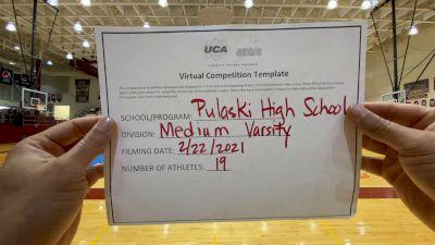 Pulaski County High School [Medium Varsity] 2021 UCA February Virtual Challenge