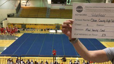 Obion County Central High School [Medium Varsity Coed] 2021 TSSAA Cheer & Dance Virtual State Championships