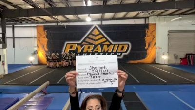 Pyramid Athletics - Luxor [L3 Senior - Global NW - Non-Building] 2021 Varsity All Star Winter Virtual Competition Series: Event II