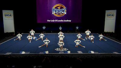 Our Lady Of Lourdes Academy [2021 Junior Varsity Non Tumbling Semis] 2021 UCA National High School Cheerleading Championship
