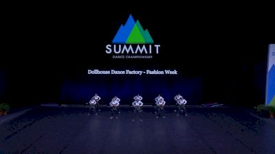 Dollhouse Dance Factory - Fashion Week [2021 Mini Hip Hop - Small Finals] 2021 The Dance Summit