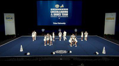 Trine University [2021 Open Small Coed Finals] 2021 UCA & UDA College Cheerleading & Dance Team National Championship