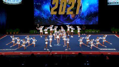The Stingray Allstars - Marietta - Peach [2021 L6 Senior Medium All Girl Semis] 2021 The Cheerleading Worlds