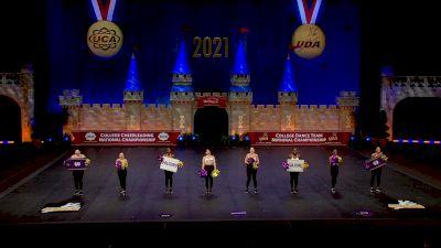 University of Montevallo [2021 Dance Open Game Day Semis] 2021 UCA & UDA College Cheerleading & Dance Team National Championship