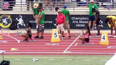 Kaila Jackson Breaks AAU Record Into A Headwind