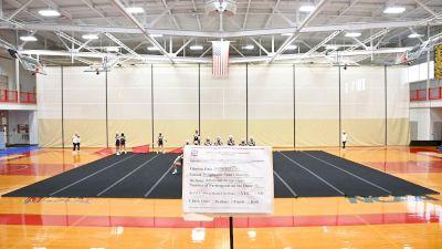 Bridgewater State University Red Squad [Virtual Advanced All-Girl Open Finals] 2021 NCA & NDA Collegiate Cheer & Dance Championship