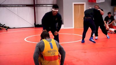 Mark Hall And Dave McFadden Last Workout Before Last Chance