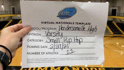 Hendersonville High School [Small Varsity - Hip Hop Virtual Semi Finals] 2021 UDA National Dance Team Championship