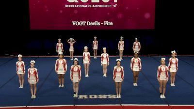 VOGT Devils - Fire [2021 L3 Performance Rec - 18Y (NON) - Small Finals] 2021 The Quest