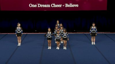 One Dream Cheer - One Dream Believe [2021 L1 Performance Rec - 12Y (NON) - Small Finals] 2021 The Quest