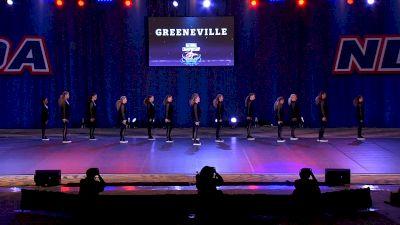 Greeneville High School Devilettes [2021 Medium Varsity Hip Hop Finals] 2021 NDA High School National Championship